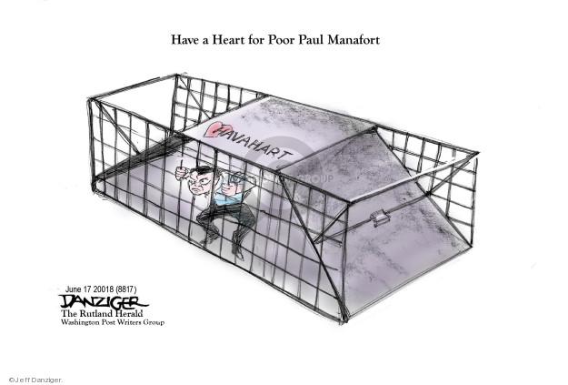 Jeff Danziger  Jeff Danziger's Editorial Cartoons 2018-06-18 Paul