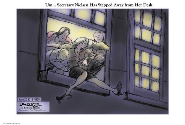 Jeff Danziger  Jeff Danziger's Editorial Cartoons 2018-06-21 Mike Pence