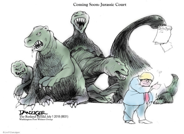 Jeff Danziger  Jeff Danziger's Editorial Cartoons 2018-07-02 nominee