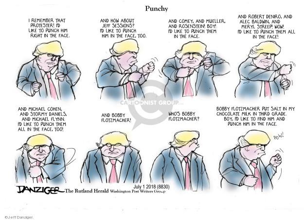 Jeff Danziger  Jeff Danziger's Editorial Cartoons 2018-07-03 violent