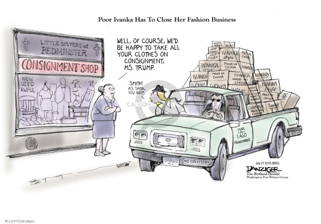Jeff Danziger  Jeff Danziger's Editorial Cartoons 2018-07-29 shop