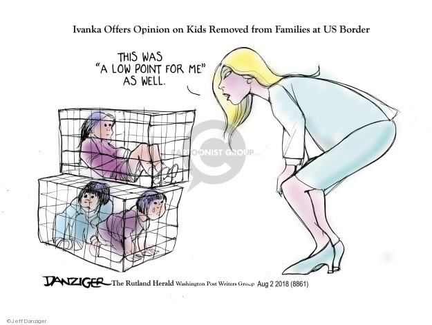 Cartoonist Jeff Danziger  Jeff Danziger's Editorial Cartoons 2018-08-03 opinion