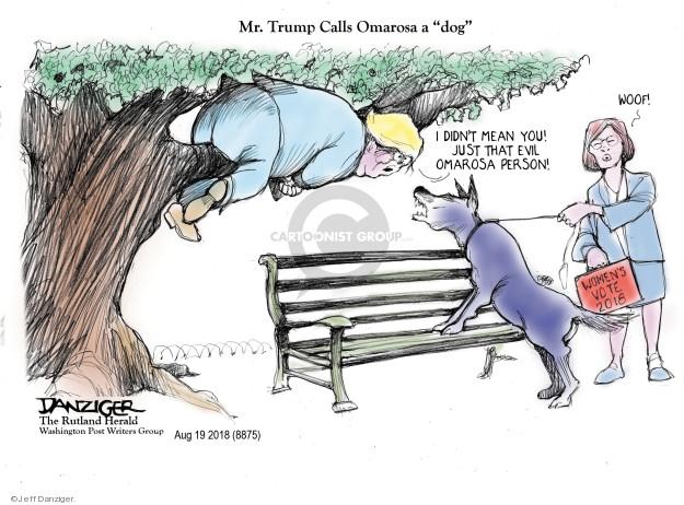 Jeff Danziger  Jeff Danziger's Editorial Cartoons 2018-08-21 Presidency