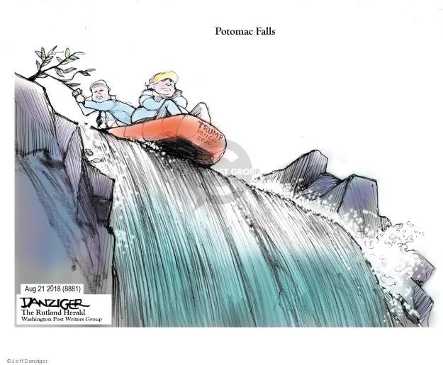Cartoonist Jeff Danziger  Jeff Danziger's Editorial Cartoons 2018-08-26 Mike
