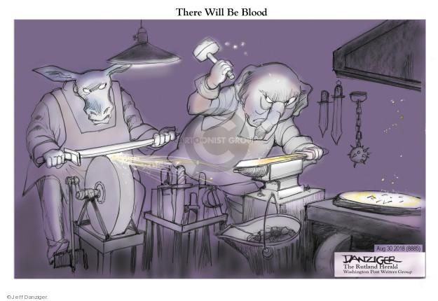 Jeff Danziger  Jeff Danziger's Editorial Cartoons 2018-08-30 republican democrat