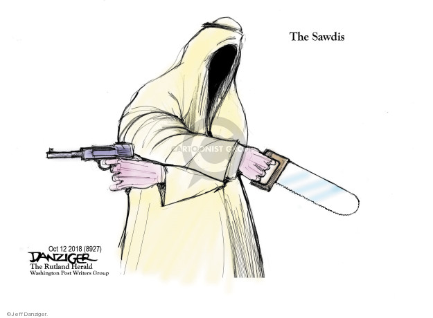 Jeff Danziger  Jeff Danziger's Editorial Cartoons 2018-10-14 press