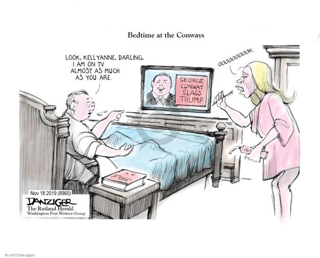 Jeff Danziger  Jeff Danziger's Editorial Cartoons 2018-11-21 Presidency