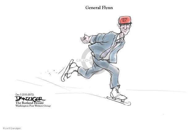 Cartoonist Jeff Danziger  Jeff Danziger's Editorial Cartoons 2018-12-06 testimony