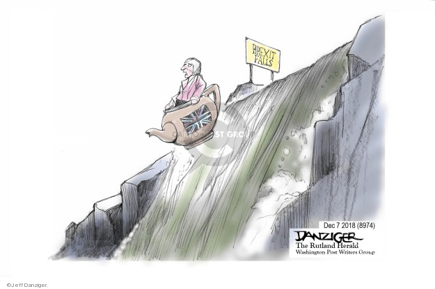 Cartoonist Jeff Danziger  Jeff Danziger's Editorial Cartoons 2018-12-08 Europe