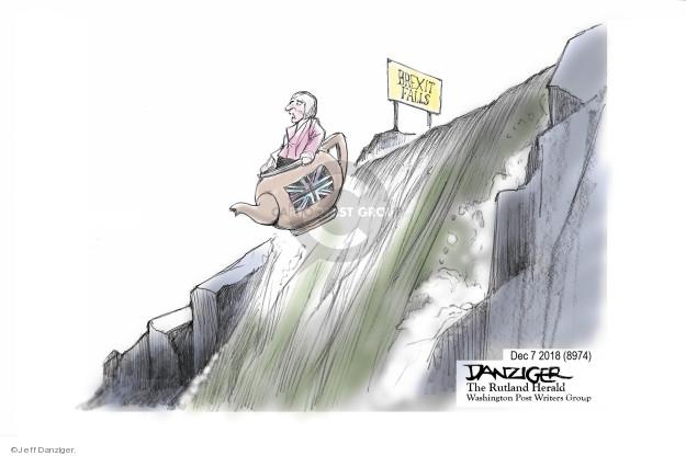Cartoonist Jeff Danziger  Jeff Danziger's Editorial Cartoons 2018-12-08 union