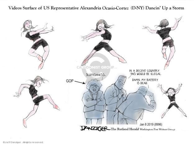 Cartoonist Jeff Danziger  Jeff Danziger's Editorial Cartoons 2019-01-10 storm