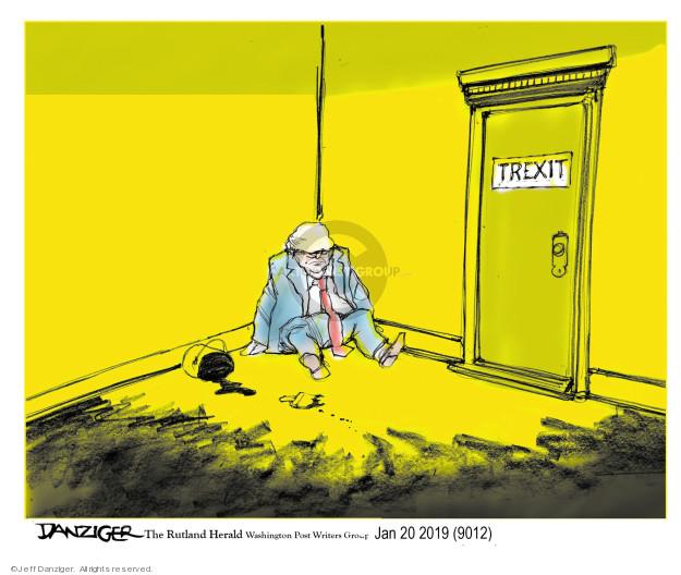 Jeff Danziger  Jeff Danziger's Editorial Cartoons 2019-01-23 Robert Mueller