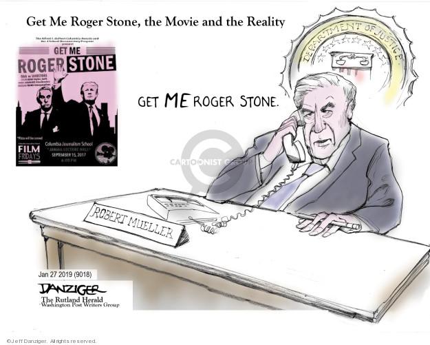 Cartoonist Jeff Danziger  Jeff Danziger's Editorial Cartoons 2019-01-27 prosecutor