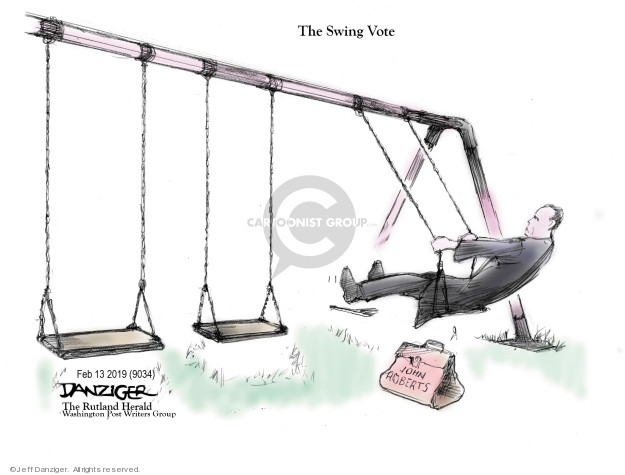 Cartoonist Jeff Danziger  Jeff Danziger's Editorial Cartoons 2019-02-15 chief