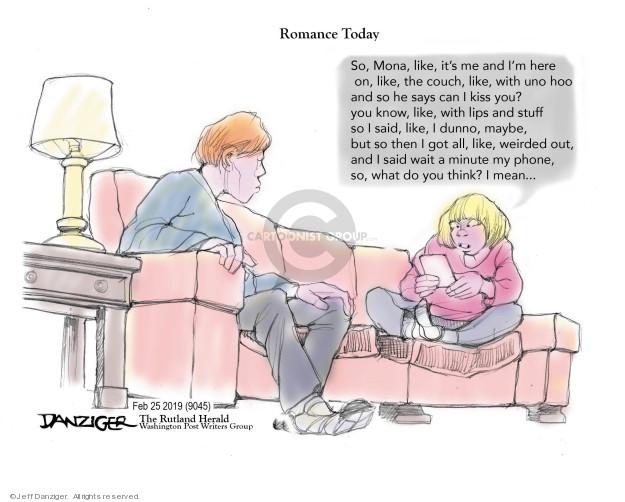 Jeff Danziger  Jeff Danziger's Editorial Cartoons 2019-02-27 wait