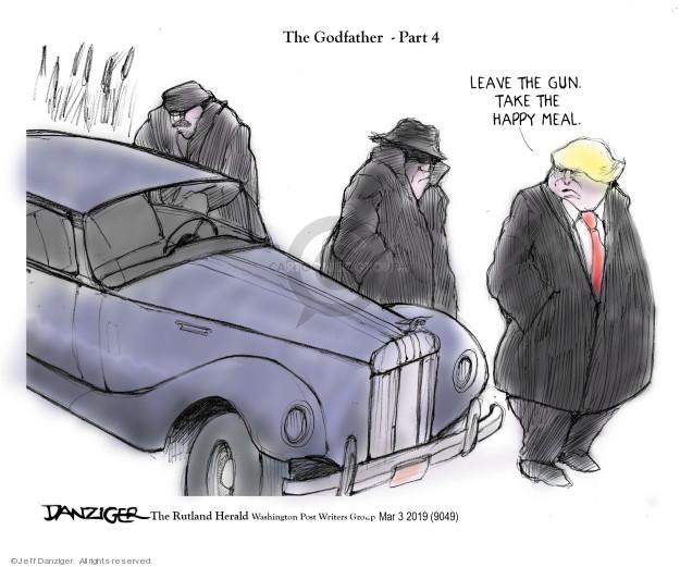 Cartoonist Jeff Danziger  Jeff Danziger's Editorial Cartoons 2019-03-04 crime