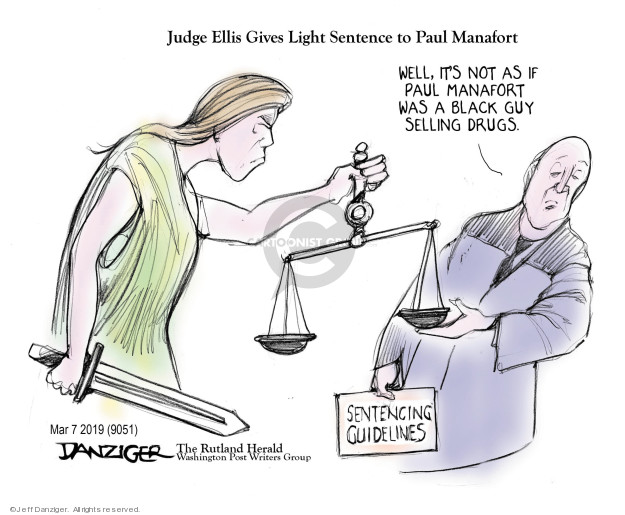 Cartoonist Jeff Danziger  Jeff Danziger's Editorial Cartoons 2019-03-08 give