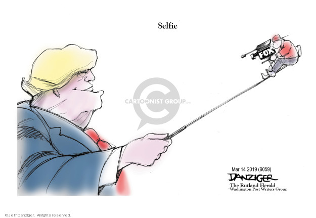 Cartoonist Jeff Danziger  Jeff Danziger's Editorial Cartoons 2019-03-15 bias