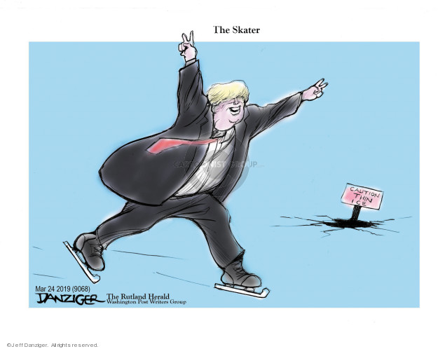 Jeff Danziger  Jeff Danziger's Editorial Cartoons 2019-03-24 summary