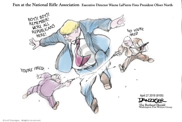 Cartoonist Jeff Danziger  Jeff Danziger's Editorial Cartoons 2019-04-30 director