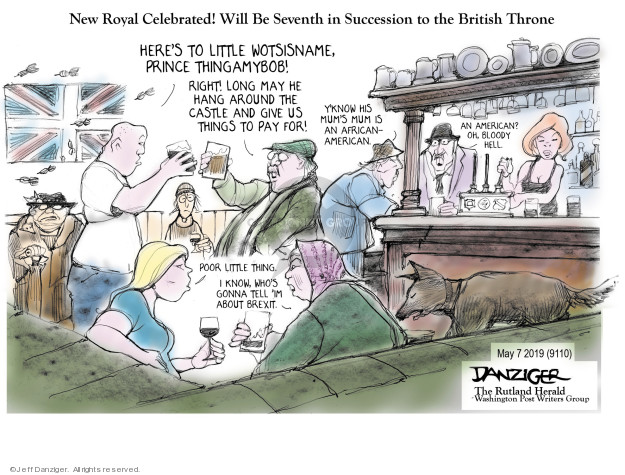 Cartoonist Jeff Danziger  Jeff Danziger's Editorial Cartoons 2019-05-09 give