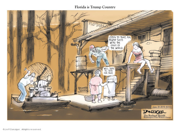 Jeff Danziger  Jeff Danziger's Editorial Cartoons 2019-06-20 country