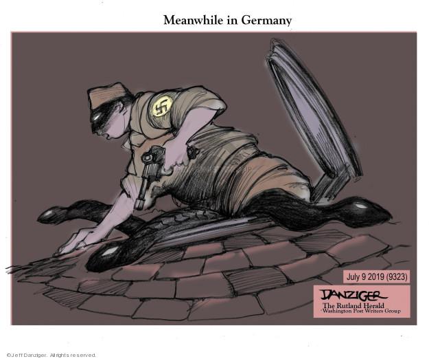 Cartoonist Jeff Danziger  Jeff Danziger's Editorial Cartoons 2019-07-09 Germany