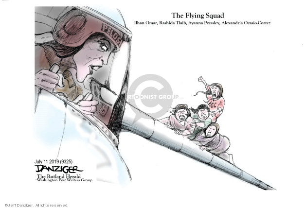 Cartoonist Jeff Danziger  Jeff Danziger's Editorial Cartoons 2019-07-12 left