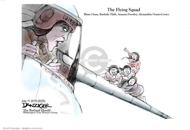 Cartoonist Jeff Danziger  Jeff Danziger's Editorial Cartoons 2019-07-12 Nancy
