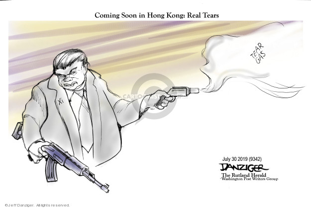 Cartoonist Jeff Danziger  Jeff Danziger's Editorial Cartoons 2019-08-01 gas