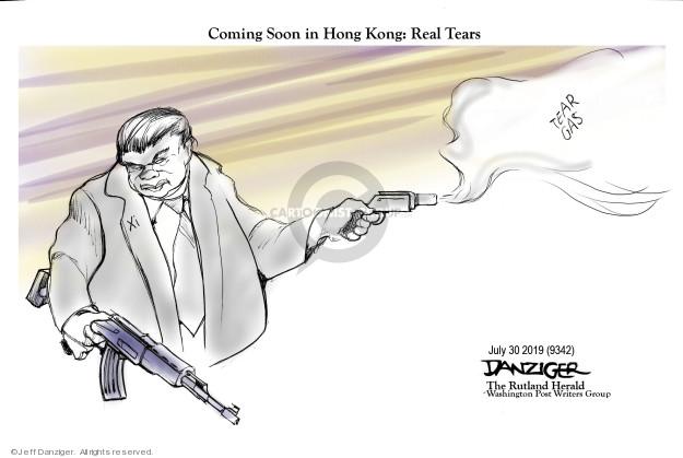 Jeff Danziger  Jeff Danziger's Editorial Cartoons 2019-08-01 chinese