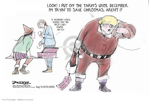 Cartoonist Jeff Danziger  Jeff Danziger's Editorial Cartoons 2019-08-17 international war