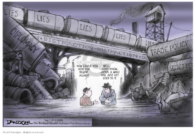 Jeff Danziger  Jeff Danziger's Editorial Cartoons 2019-09-04 environment