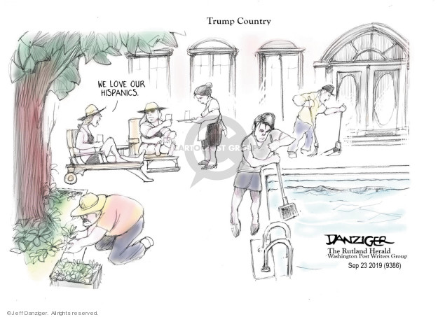 Jeff Danziger  Jeff Danziger's Editorial Cartoons 2019-09-24 country