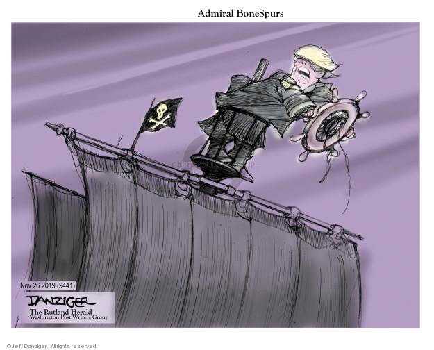 Jeff Danziger  Jeff Danziger's Editorial Cartoons 2019-11-25 Vietnam War