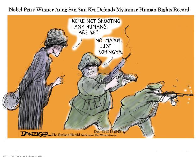 Cartoonist Jeff Danziger  Jeff Danziger's Editorial Cartoons 2019-12-14 state