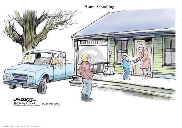 Cartoonist Jeff Danziger  Jeff Danziger's Editorial Cartoons 2020-03-20 health care