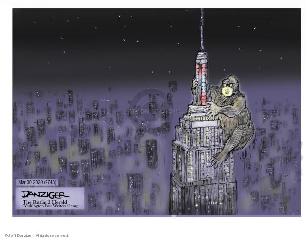 Cartoonist Jeff Danziger  Jeff Danziger's Editorial Cartoons 2020-04-01 medical