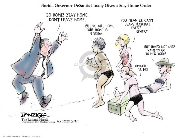 Jeff Danziger  Jeff Danziger's Editorial Cartoons 2020-04-04 not
