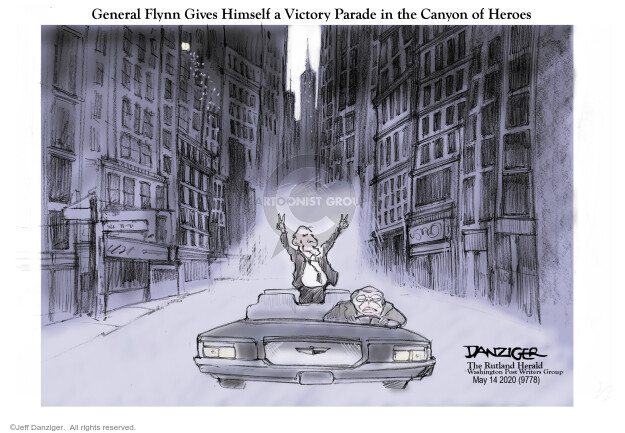 Cartoonist Jeff Danziger  Jeff Danziger's Editorial Cartoons 2020-05-14 national