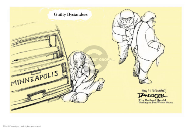 Jeff Danziger  Jeff Danziger's Editorial Cartoons 2020-06-02 politics