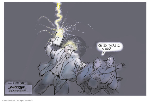 Jeff Danziger  Jeff Danziger's Editorial Cartoons 2020-06-04 politics