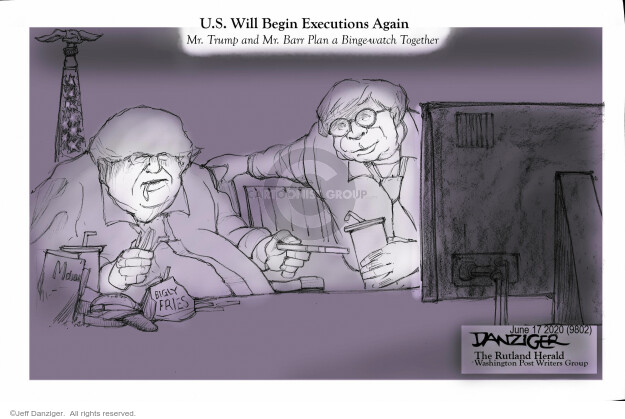 Jeff Danziger  Jeff Danziger's Editorial Cartoons 2020-06-17 editorial