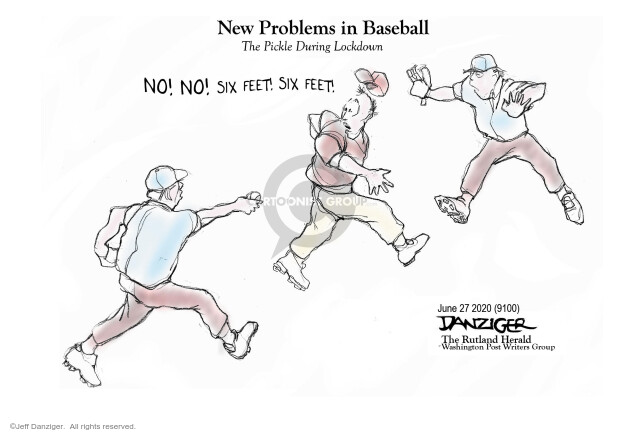 Jeff Danziger  Jeff Danziger's Editorial Cartoons 2020-06-28 sport