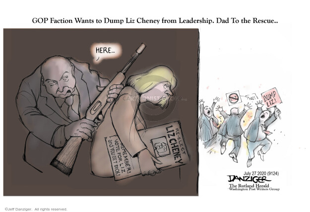 Jeff Danziger  Jeff Danziger's Editorial Cartoons 2020-07-27 legislative branch