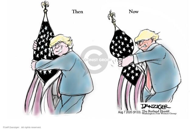 Jeff Danziger  Jeff Danziger's Editorial Cartoons 2020-08-07 pandemic