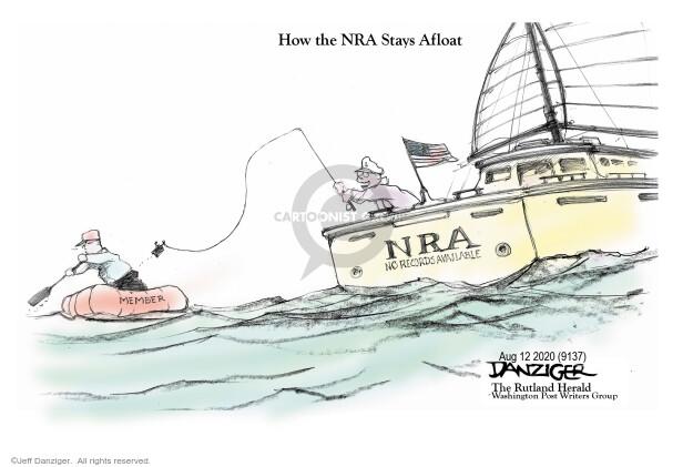 Jeff Danziger  Jeff Danziger's Editorial Cartoons 2020-08-11 record
