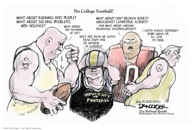 Jeff Danziger  Jeff Danziger's Editorial Cartoons 2020-08-15 public