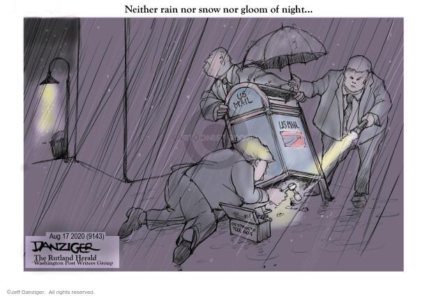 Jeff Danziger  Jeff Danziger's Editorial Cartoons 2020-08-17 president