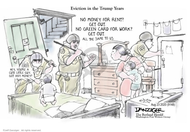 Jeff Danziger  Jeff Danziger's Editorial Cartoons 2020-08-24 worker